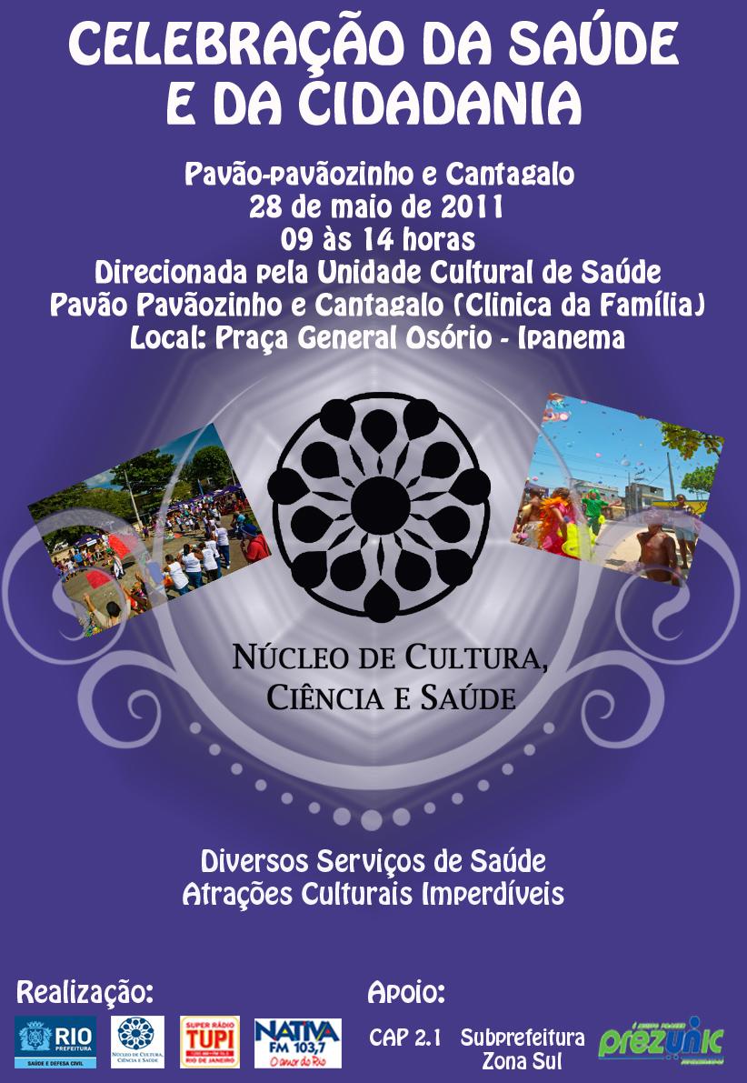 Convite Dia 28 De Maio Teremos Celebração Da Saúde E Da