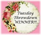 4 x Tuesday Throwdown Winner