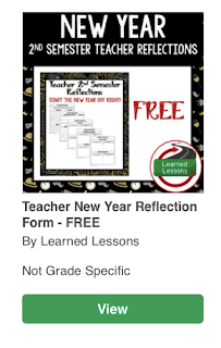 Teacher Reflection