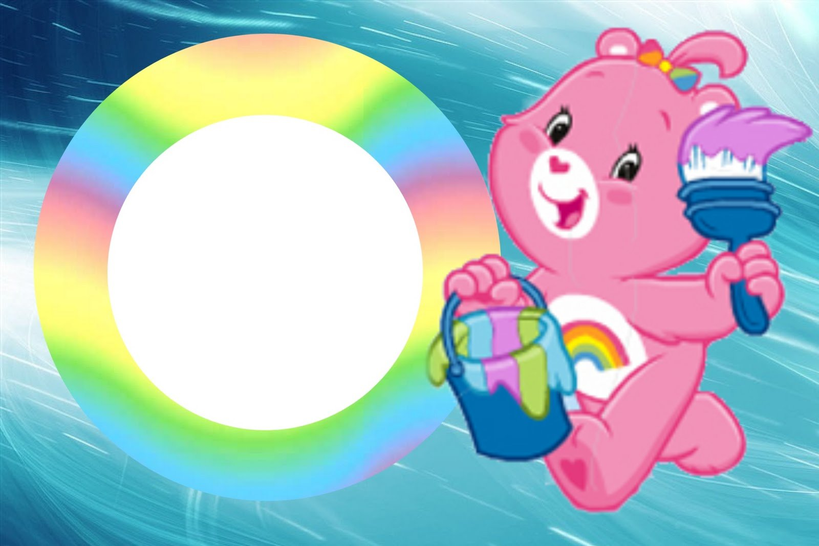 Care Bears Party Free Printable Invitations Oh My Fiesta