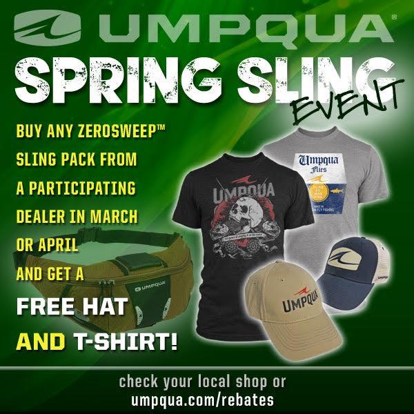 UMPQUA - Spring Sling Event