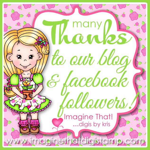 Thank You ~ Imagine That Digistamps