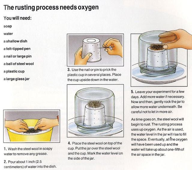Rusting process experiment