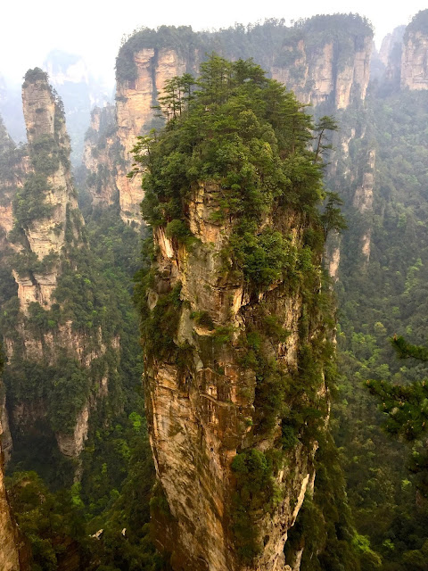 Avatar Hallelujah Mountain in Zhangjiajie National Park, China