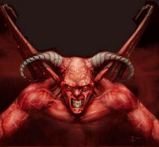 Sekadar Gambaran rupa Iblis