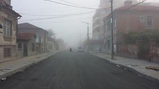 Fog, Autumn, Yambol,