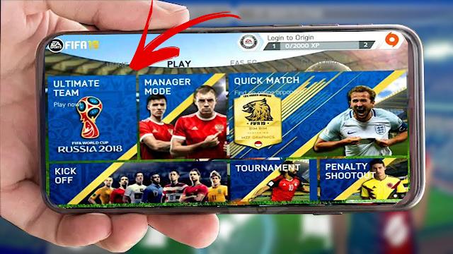 واخير تحميل لعبة  FIFA 14 MOD World Cup Russia 18 للاندرويد باحداث الانتقالات والاطقم