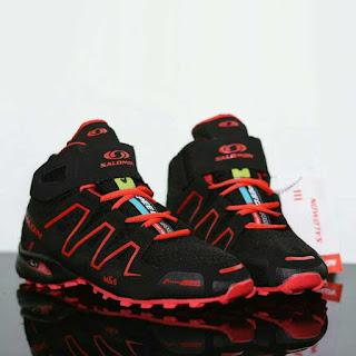 sepatu gunung salomon, sepatu tracking, sepatu hiking murah