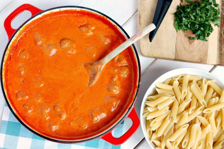 Saucy Sausage Pasta