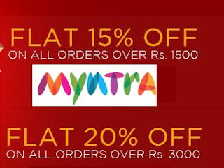 Myntra Women's Day Offer: Flat 15% & 20% extra Discount on Already Discounted Fashion Brands upto 70%
