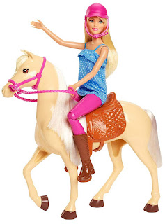Barbie and Horse, Blonde