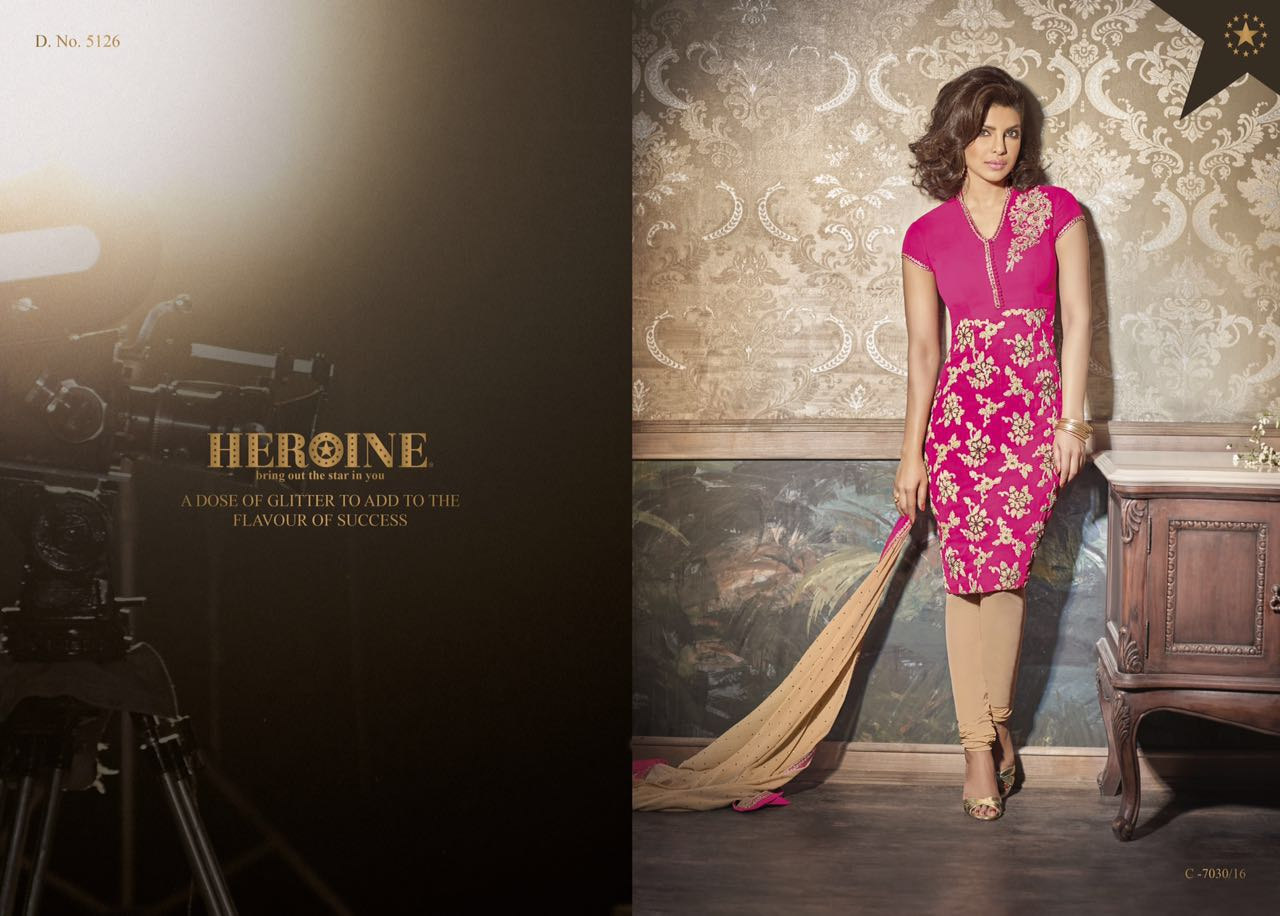 Heroine – Priyanka Diffrent Stylish Fancy Salwar Suit