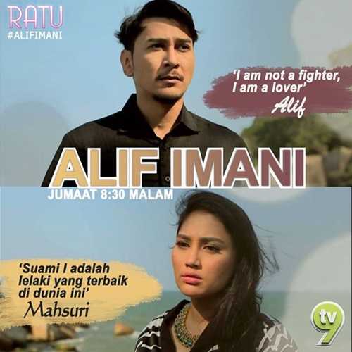 Original Sound Track OST Alif Imani TV9, lagu tema drama Alif Imani TV9, lagu latar, download OST Alif Imani TV9, tonton video klip lagu Dahsyat – Mojo, lagu Sampai Akhir Cerita – Min Yasmin, lagu Lafazkanlah - Min Yasmin
