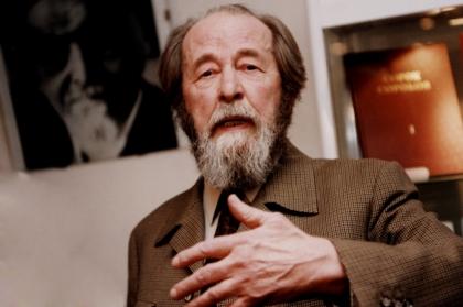 Резултат с изображение за Александър Солженицин.