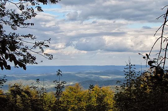 Widok ze wschodniego stoku Chryszczatej
