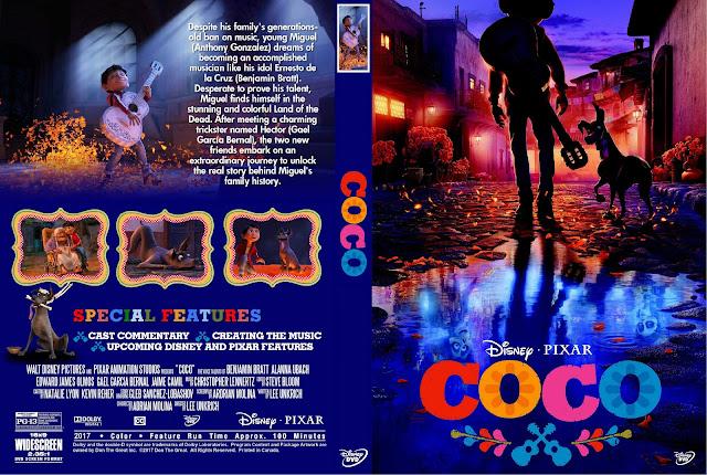 Coco DVD Cover