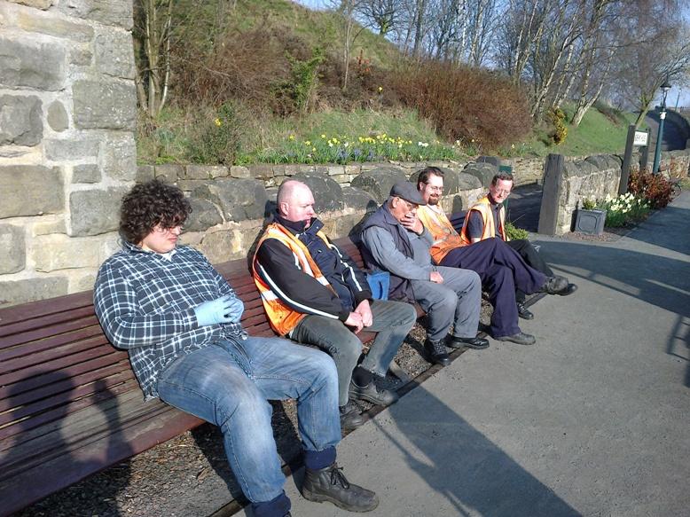 The track gang practise psychological preparation