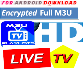 Download Full Channel Encrypted  M3U LINK FOR LIVE TV CHANNEL  Encrypted M3u Full Channel Link For Premium Cable Tv,Sports Channel,Movies Channel.