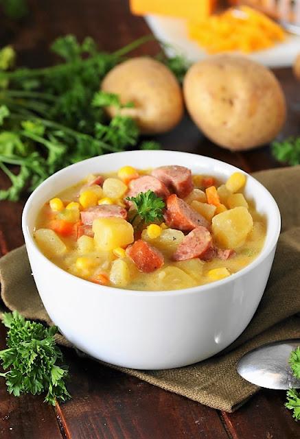 Kielbasa Potato Soup picture