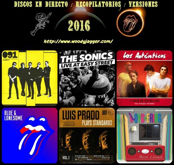 Lo mejor del 2016: discos en directo, recopilatorios, versiones
