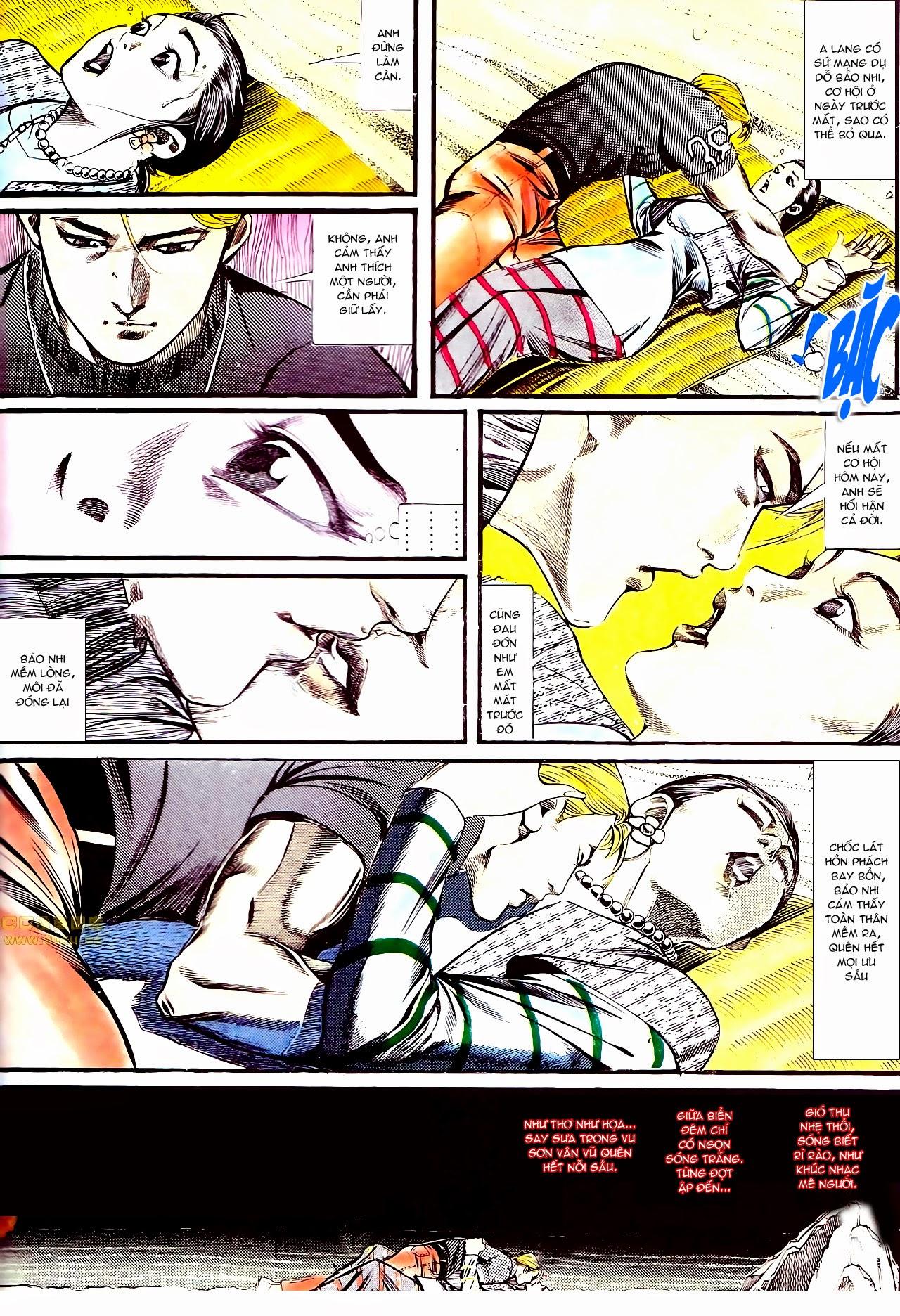 Người Trong Giang Hồ chapter 134: tấn công bảo nhi trang 35