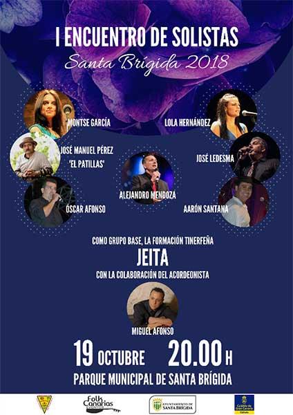 I Encuentro de Solistas Santa Brígida 2018