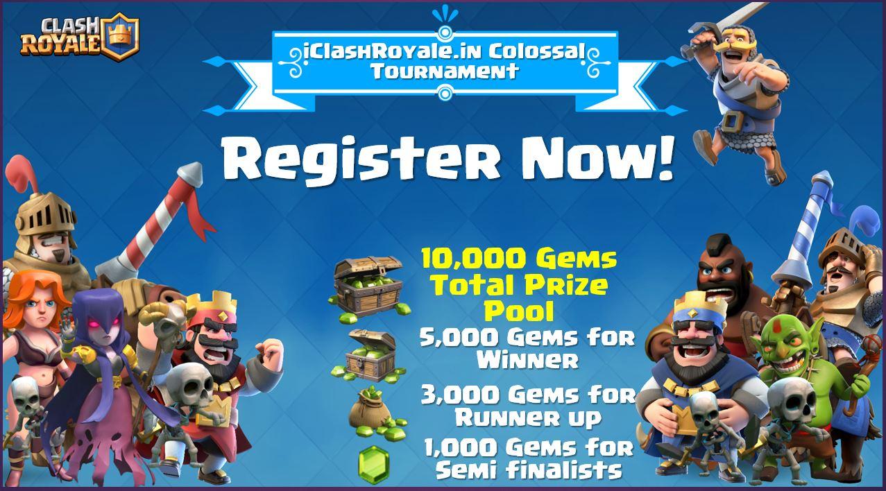 iClashRoyale_Colossal_Tournament