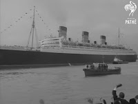 Video - RMS Queen Mary departing Southampton 1967