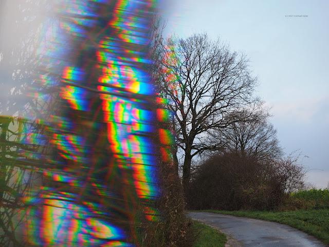 Fotografie Prisma Spektralfarben