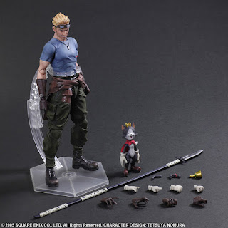 Play Arts Kai Cid y Cait Sith de Final Fantasy VII: Advent Children - Square Enix