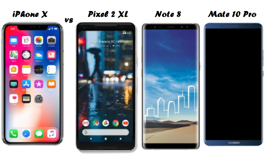 iPhone X Over Note 8, Pixel 2 XL or the Mate 10 Pro