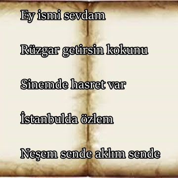 Ersin adına akrostis şiirler - isimlere şiirler
