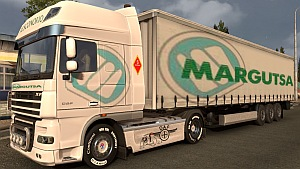 Margutsa trailer and DAF skin