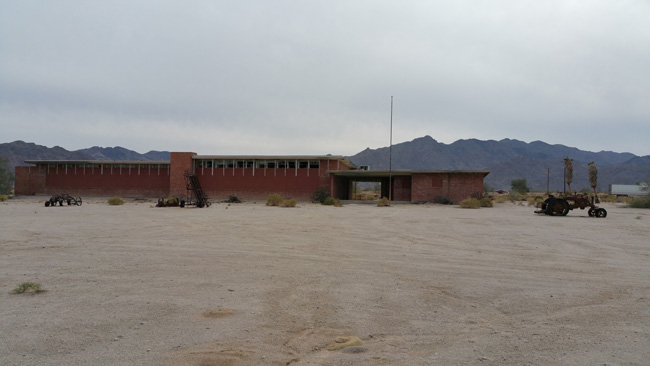 Desert Center California Abandoned School