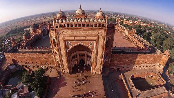 Buland-Darwaza-Fatehpur-Sikari, heritageofindia, Indian Heritage, World Heritage Sites in India, Heritage of India, Heritage India