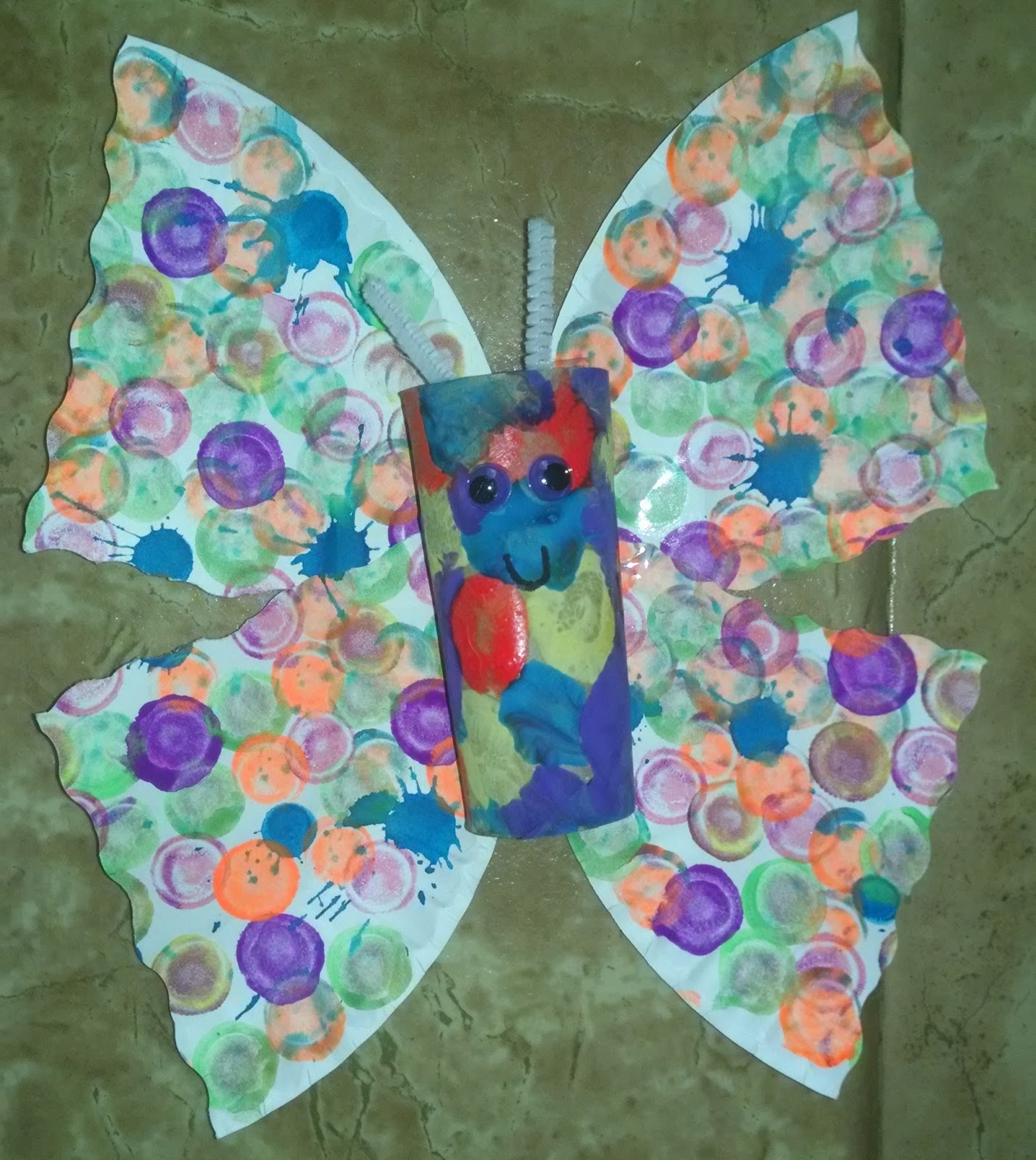 Kidspert Toilet Paper Roll Butterflies