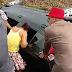 """Exclusivo! Carro capota na br-324; vítima, idoso comemora: """"sem nenhum arranhão"""""""
