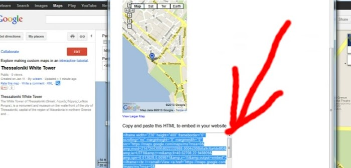 How To Add Google Map To Your Blogger Blog