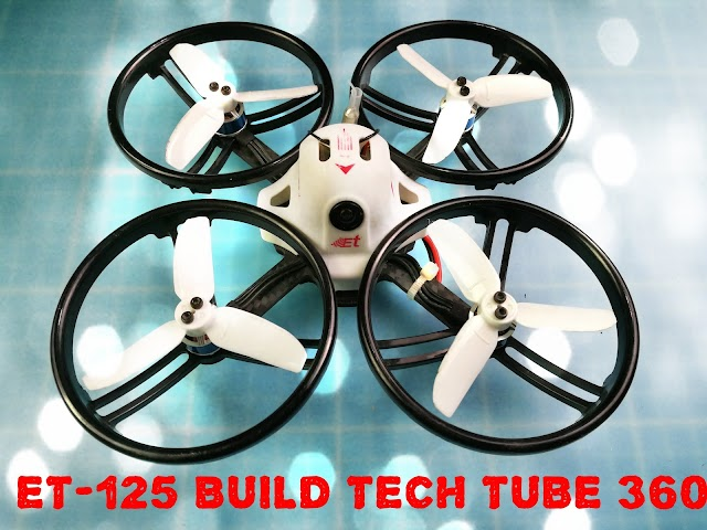 ET-125 Custom RC Quadcopter Build  Giant Whoop DIY