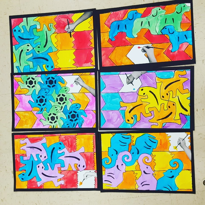 Artolazzi M C Escher Tessellations