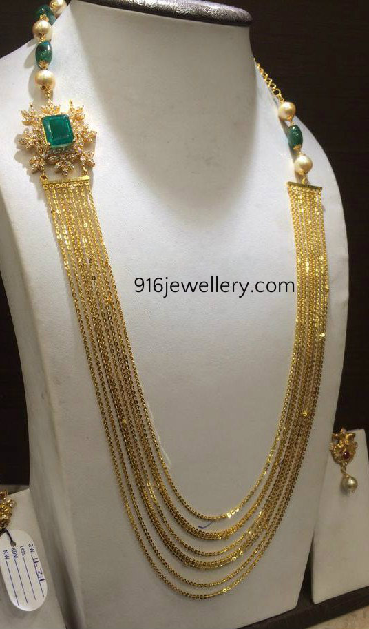 Gold Platinum Diamond Chain