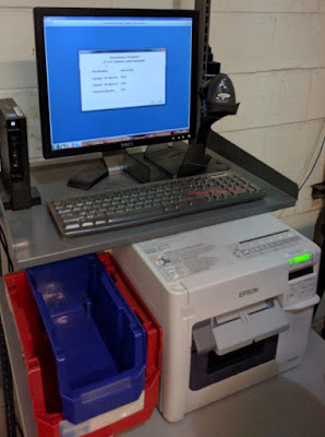 Clayton GHS Label Print Station