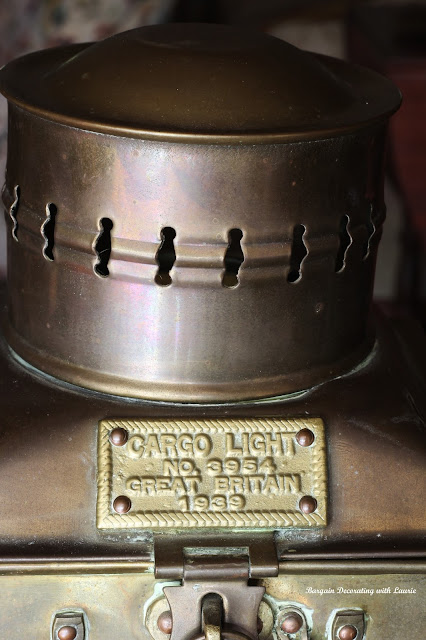 Vintage Cargo Light-Bargain Decorating with Laurie