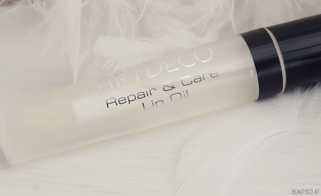 revue avis test artdeco repair and care lip oil huile levres