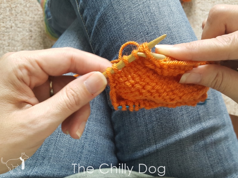 Knitting Wrap And Turn Purl Side : Knitting tutorial wrap and turn short row heels the