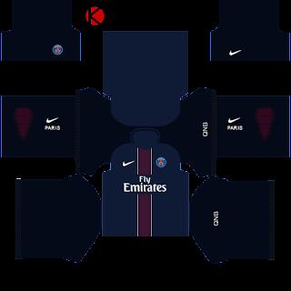 e39d1d0e90c PSG Kits 2016/2017 | Dream League Soccer 2015 - Kuchalana