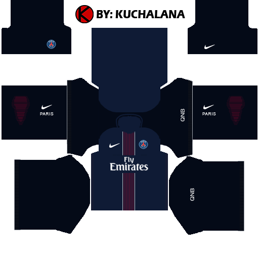 PSG Kits 2016/2017 | Dream League Soccer 2015