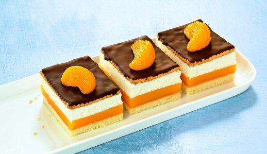 Beste Kuchen Rezepte Orangen Pudding Schnitten