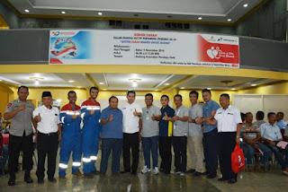 Wabup Apresiasi Donor Darah Pertamina Pendopo