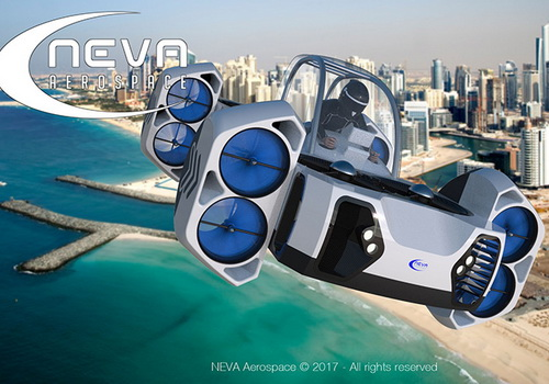 Tinuku Neva Aerospace presents AirQuadOne as private VTOL